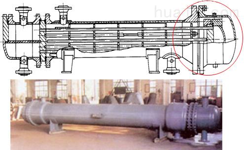 管壳式换热器的类型,标准和结构 1  类型和标准 2) 浮头式换热器