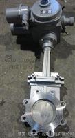 DN65梅花型电动刀型闸阀-凸耳式