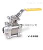 V-358B对焊三片式全径球阀